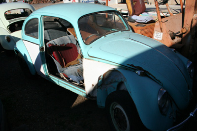 Mid '60S Beetle - accident damaged