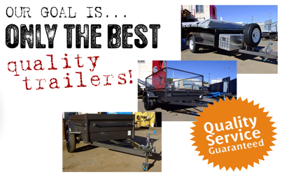 Offering a quality trailer to our customers is our No.1 goal